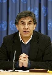 Bolivian Ambassador Pablo Sol?n