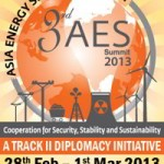AESS 2013: 3rd Asia Energy Security Summit 2013 at Bangkok