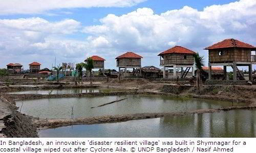 A Disaster Resilient Village in Bangladesh