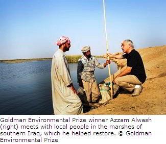 Environmentalist Azzam Alwash