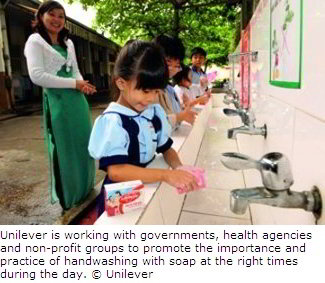 Sustainable Living: Hand-washing