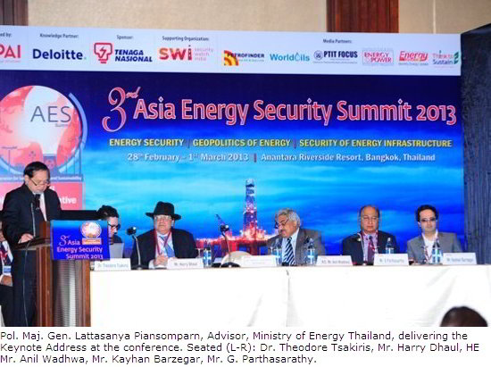 3rd Asia Energy Security Summit
