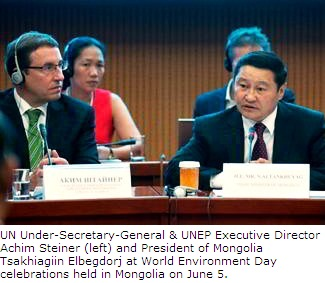 World Environment Day (WED 2013) in Mongolia