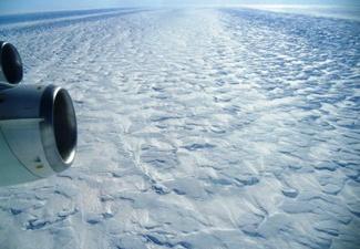 Pine Island Glacier in Antarctica