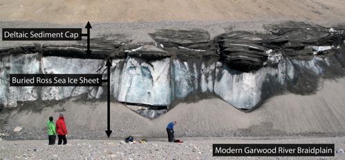 Garwood Valley Ice Cliff