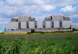 Bradwell nuclear power station, Essex, Great Britain