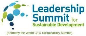 Logo TERI-BCSD Leadership Summit for Sustainable Development