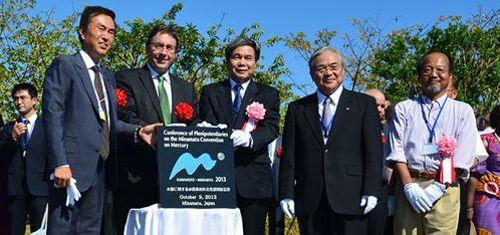 Achim Steiner With Japanese Delegates