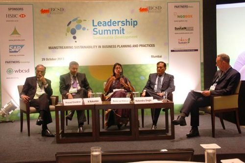 High Level CEO Panel Organized by TERI-BCSD