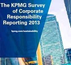 KPMG Survey of Corporate Responsibility Reporting 2013