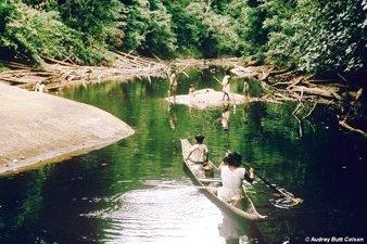 Mazaruni River in Guyana