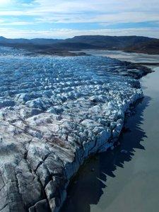 Calving Glacier in Greenland