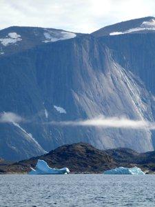 Upernavik Isfjord in Greenland