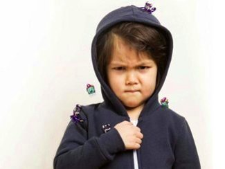 Toxic Monsters in Child's Hoodie