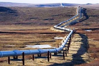 Pipeline Carrying Tar Sands Crude