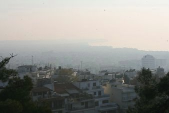 Air Pollution in Thessaloniki, Greece