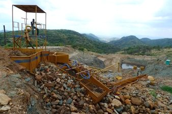Large-scale Gold Mine in Uganda