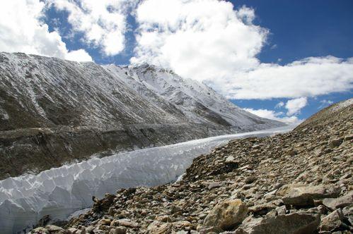 Shrinking Glacier in Tibet