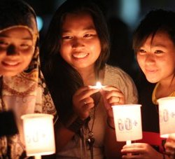 Earth Hour 2014 in Brunei. © Azme / Earth Hour