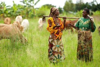 Women Farmers in Africa. © The One Campaign