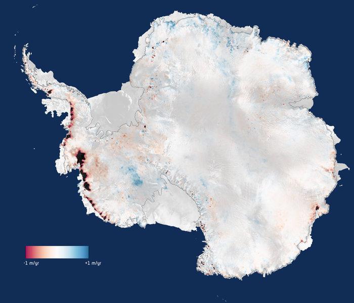 Antarctica's Ice Loss