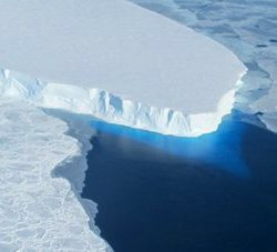 Thwaites Glacier in Antarctica