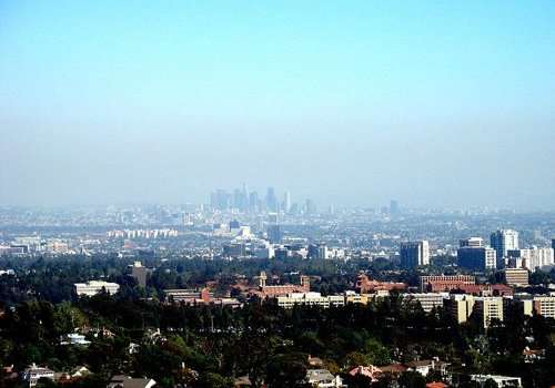 Ozone Pollution in Los Angeles, U.S.