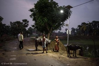 Solar Power Micro-Grid in Dharnai Village, India