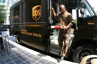 UPS Low Emission Hybrid Electric Vehicle