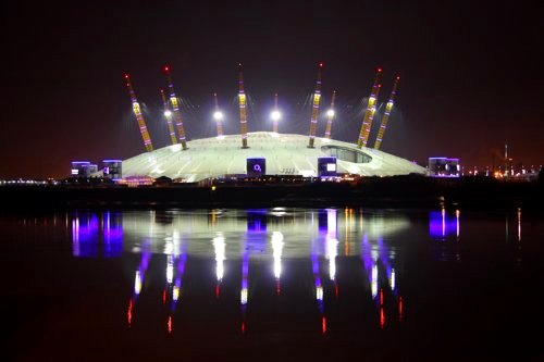 The O2 in London