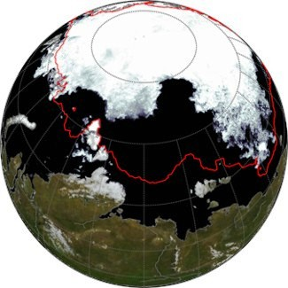 Sea Ice Retreat in Arctic