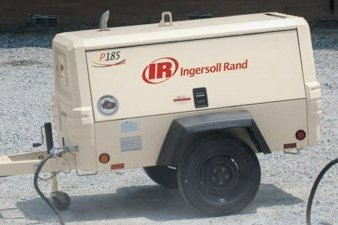 Ingersoll Rand's Diesel Portable Air Compressor