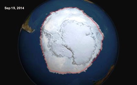 Antarctica Sea Ice Extent