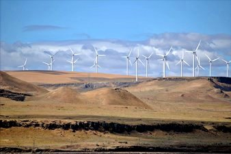 Shepherds Flat Wind Farm, Oregon, USA