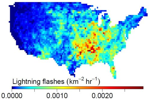 Lightning Strikes in United States